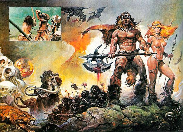 Good idea. conan the barbarian with women congratulate