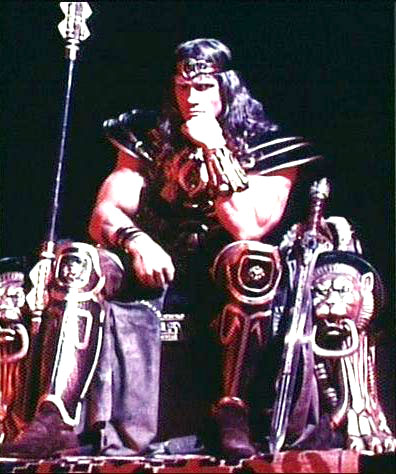 in the   Conan Files   Conan The Destroyer Throne